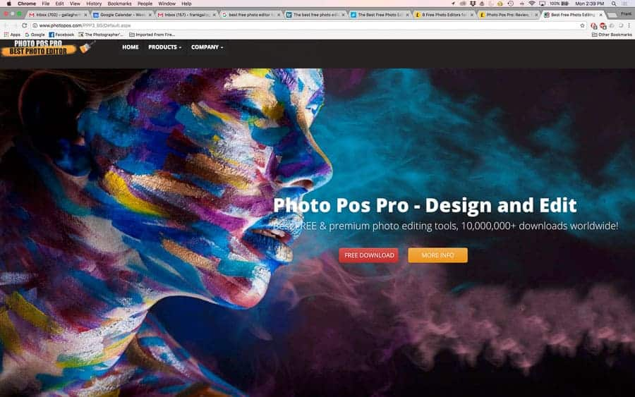 PhotoPOS home page
