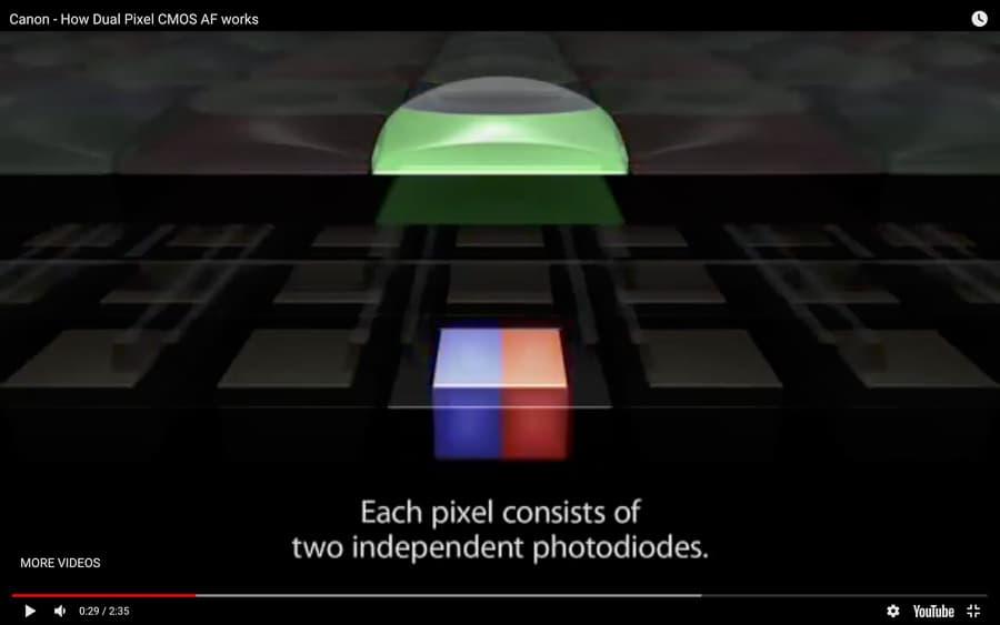 Dual Pixel Auto Focus image.