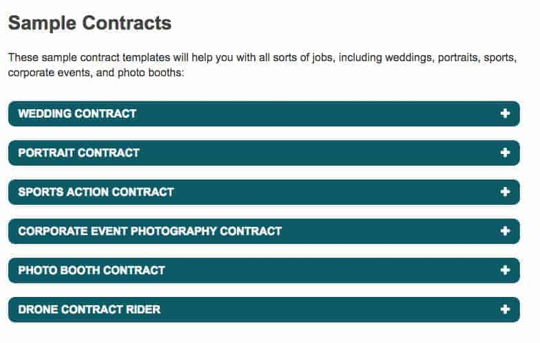 PPA Photographer Contracts