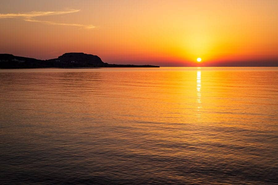 how i got the shot a greek sunrise improve photography