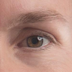 Photo of a single eye.