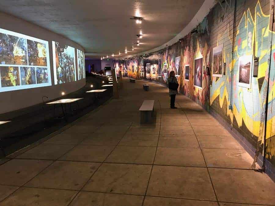 World Press Photo Contest Photography Exhibit in Dupont Underground.