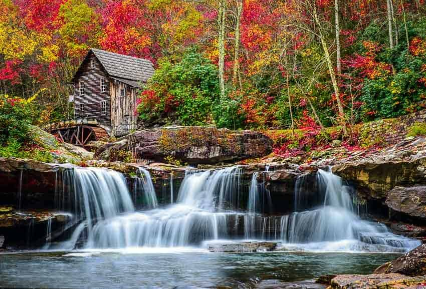 West Virginia fall color. Photo by the author - Jim Harmer.